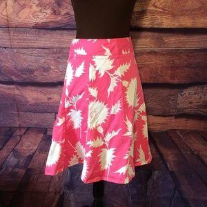 Women's Isaac Mizrahi Pink Floral Skirt